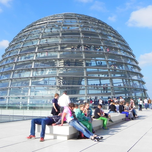 Puerta de Brandeburgo + Cúpula del Reichstag: Tour guiado