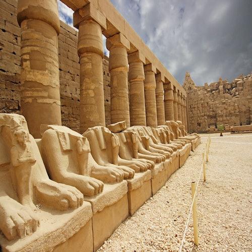 Valle de los Reyes, Hatshepsut y Karnak con comida