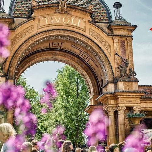 Parque de atracciones Jardines Tivoli: Sin colas