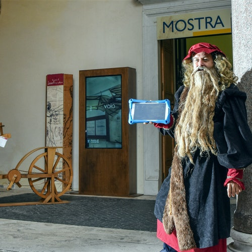 Treasure Hunt with Leonardo da Vinci