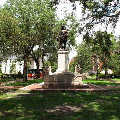 Old Town Trolley en Savannah