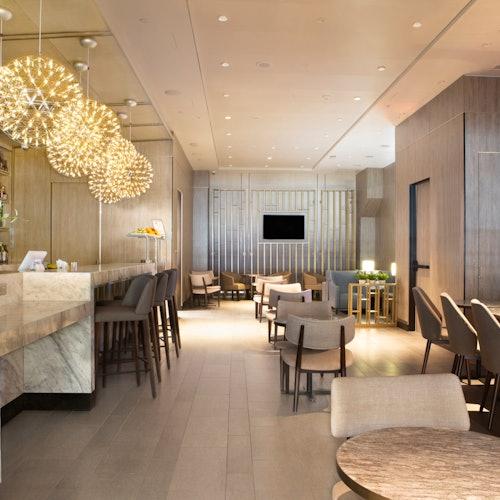 Plaza Premium Lounge en el Aeropuerto Internacional de Dallas Fort Worth