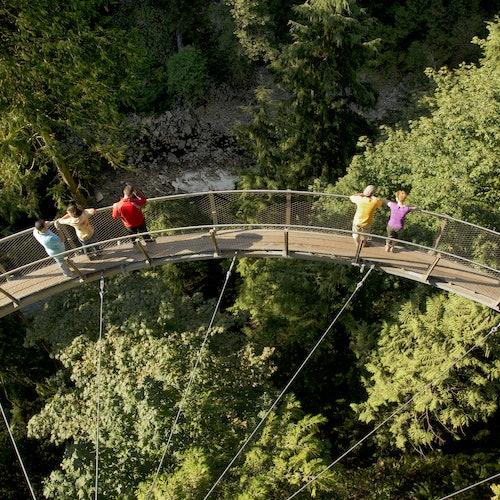 Parque del Puente Colgante de Capilano