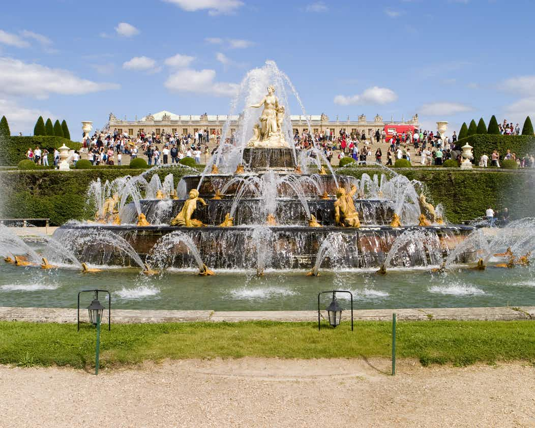 Paleis Van Versailles Fonteinen Tuinen Show Tickets