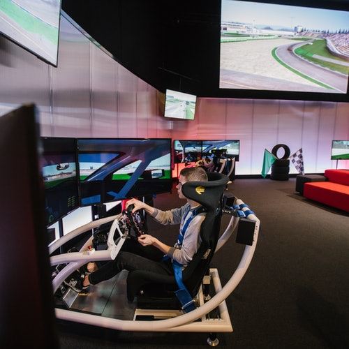Sim Mobility Virtual Racing