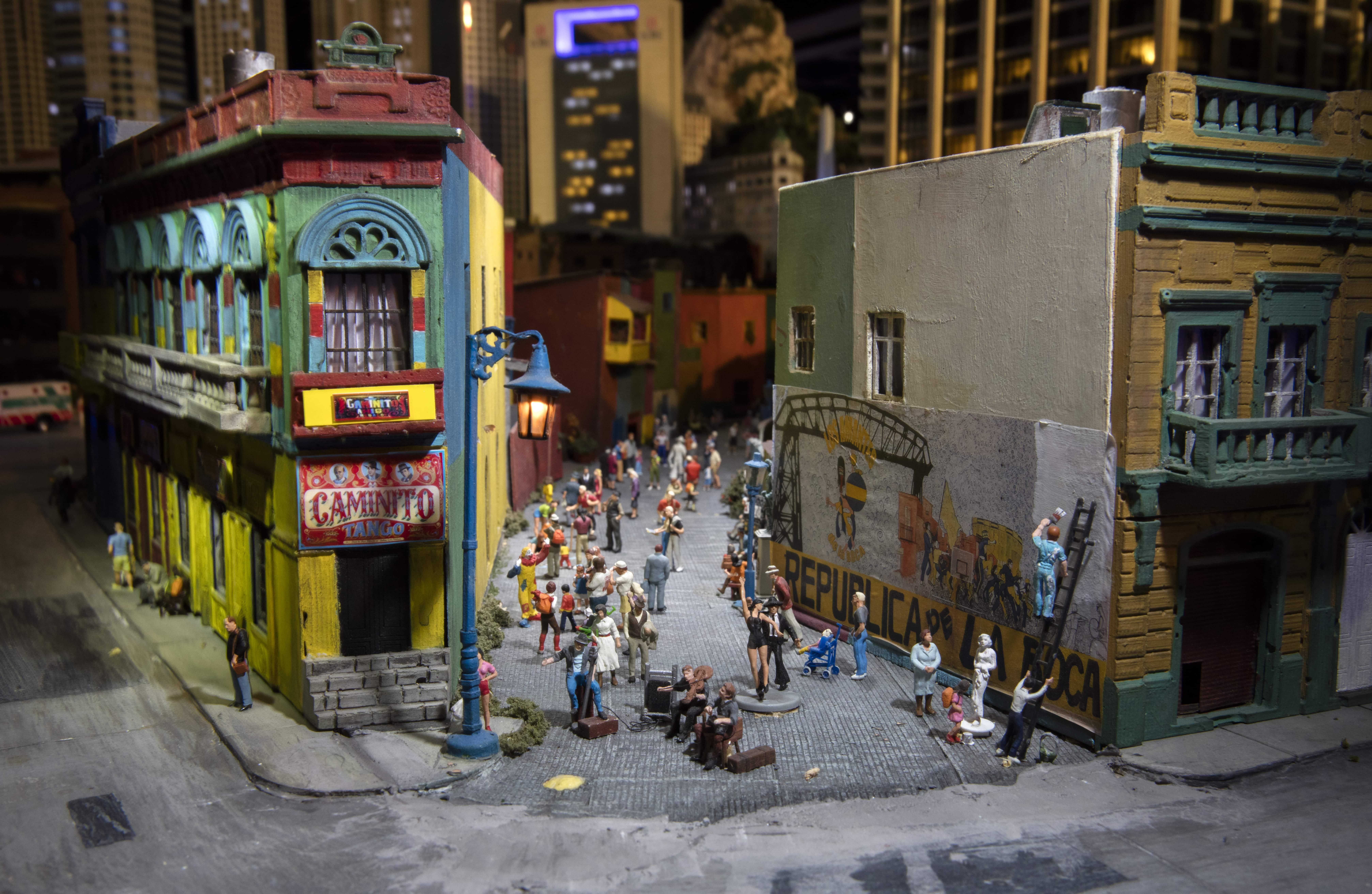 le monde en miniature au Gulliver's Gate de New York
