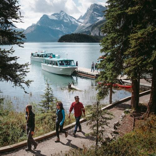 Jasper: Tour + Crucero de temporada por el lago Maligne