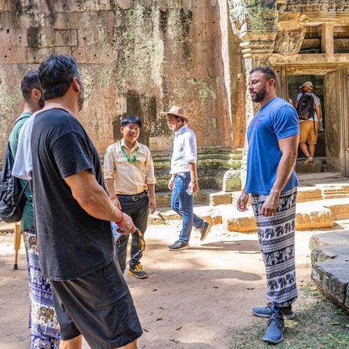 Excursión en Vespa al Amanecer de Angkor