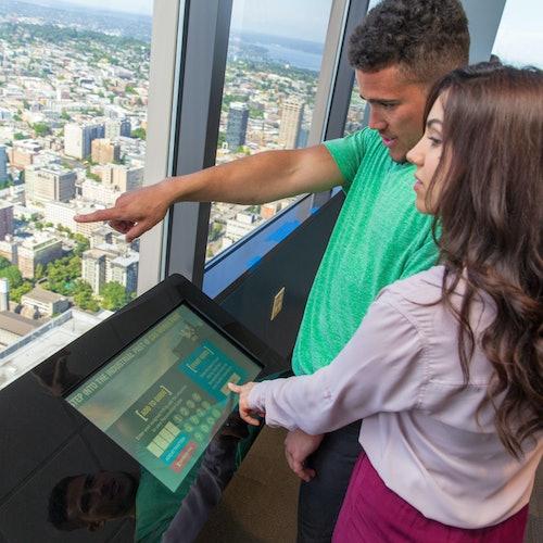 Plataforma de observación Sky View: Acceso rápido