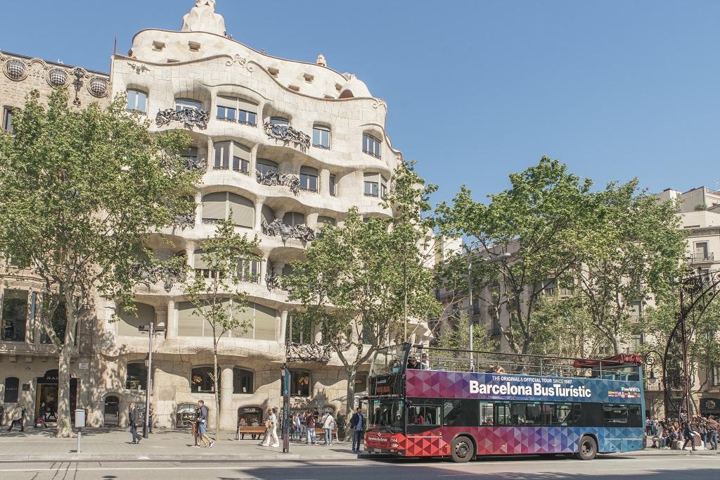 Bus Touristique Billets Pour Barcelona ZiPkXuOT