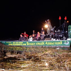 1-Hour Boggy Creek Night Airboat Tour