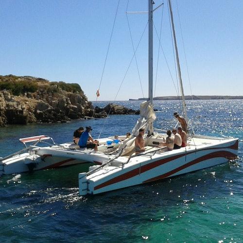 Bay of Fornells: Sunset Catamaran Trip
