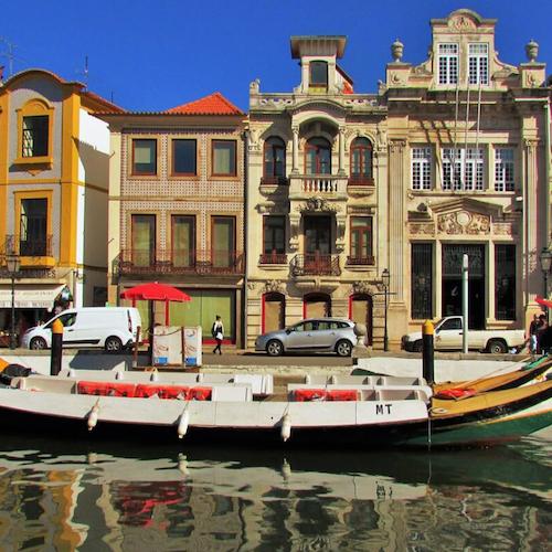 Aveiro: Tour de medio día desde Oporto con crucero