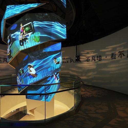 Plataforma de observación sky100 de Hong Kong