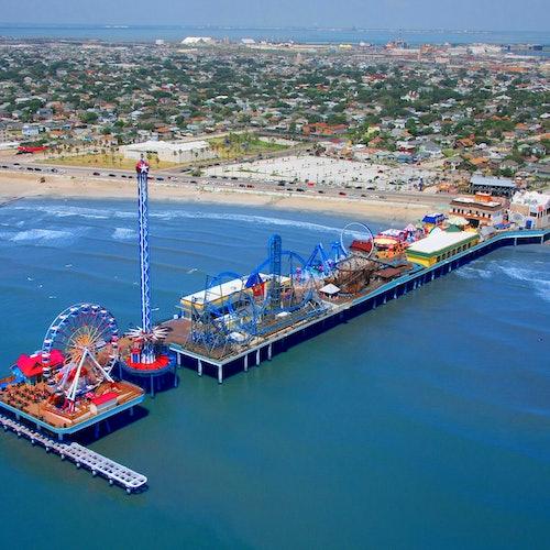Galveston Island Historic Pleasure Pier: Pase All Day Ride