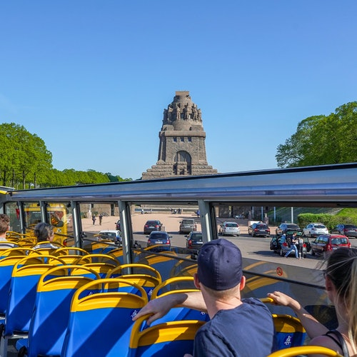 Bus turístico de Leipzig + Panometer