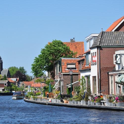 Crucero por los lagos de Ámsterdam desde Leiden