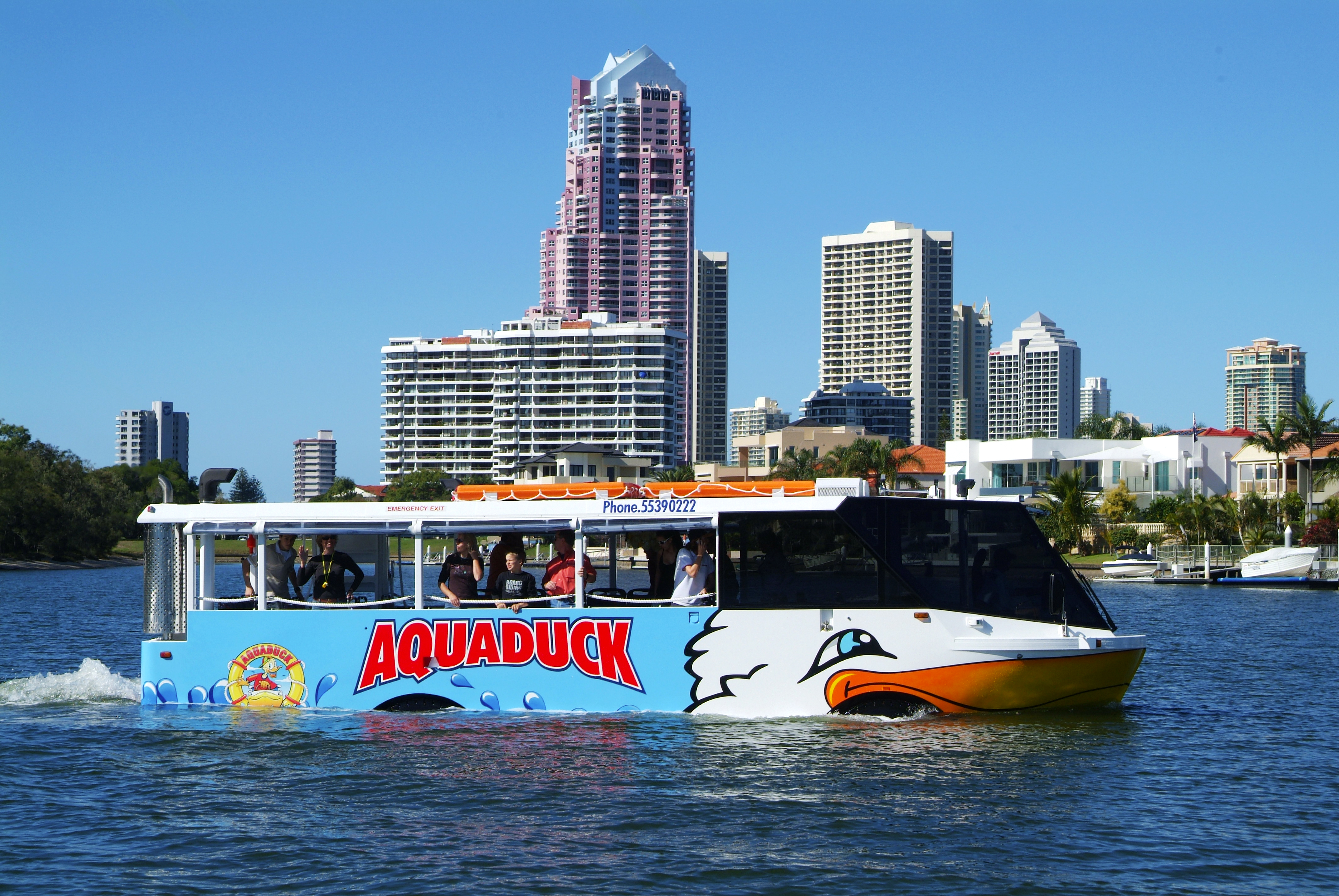 Tickets for Aquaduck 1-Hour City Tour and River Cruise