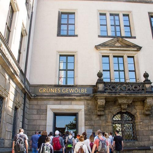 Castillo de Dresde y la Bóveda Verde: Visita guiada