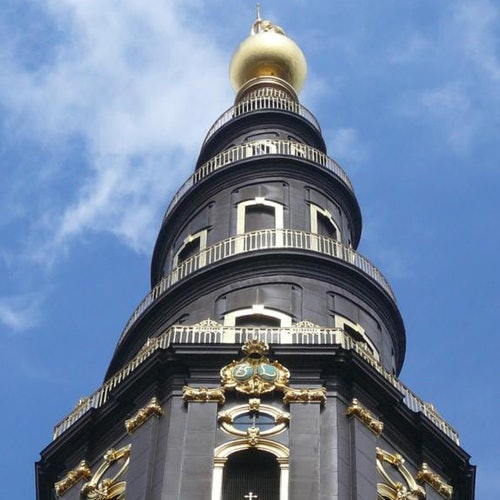 La iglesia de Nuestro Salvador: Acceso a la torre