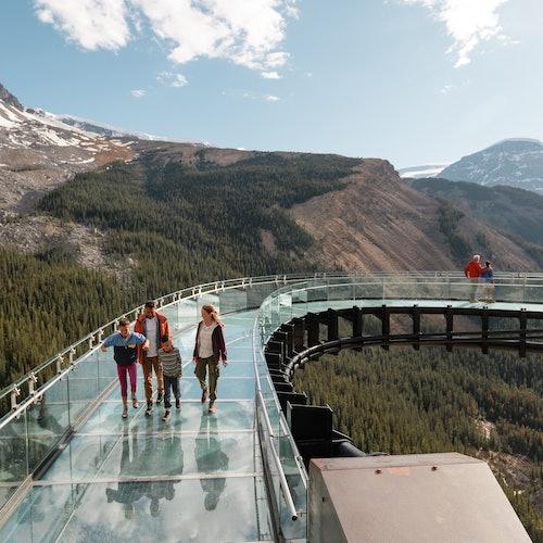 Glacier Adventure: Ice Explorer Glacier Tour and Glacier Skywalk