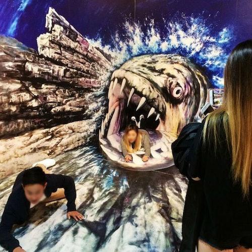 Trickeye Museum y Ice Museum
