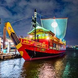 Samurai Cruises Tokyo Bay: Sunset Cruise or Samurai Evening Cruise