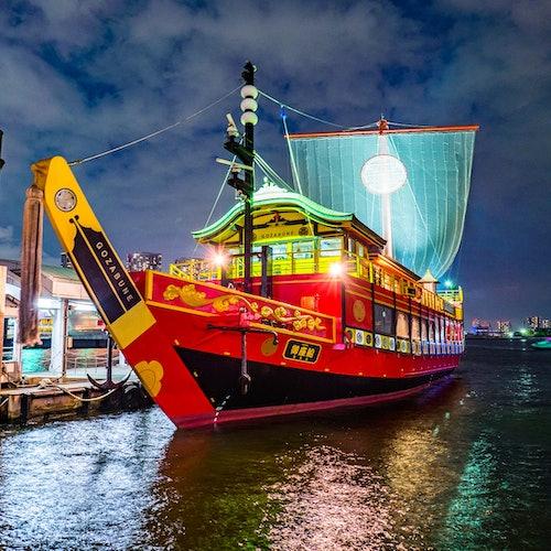 Samurai Cruises Tokyo Bay: Crucero al atardecer o crucero samurai nocturno