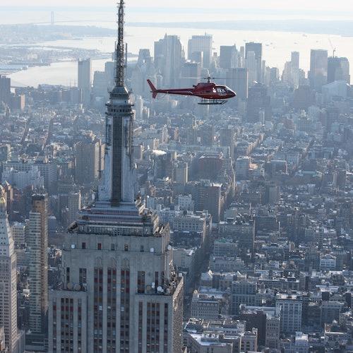 Vuelo en helicóptero sobre Nueva York desde Nueva Jersey