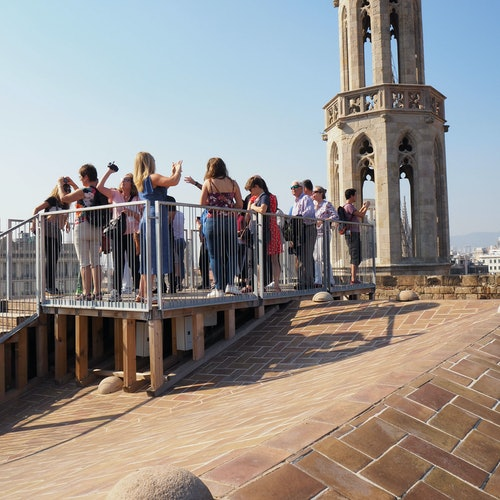 Santa Maria del Mar + Towers & Terraces: Guided Visit