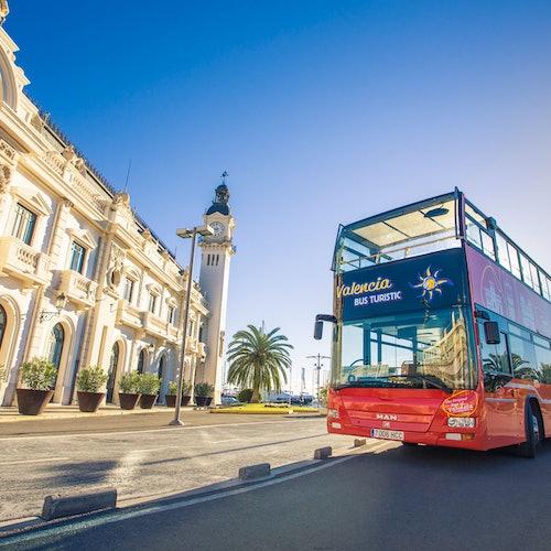 Bus y barco turístico de Valencia + Albufera