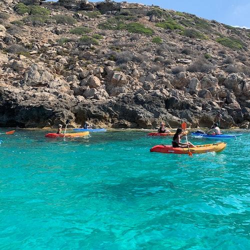 Alquiler de kayak en la bahía de Palma