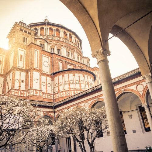 Admission to Santa Maria Delle Grazie with Old Sacristy Option