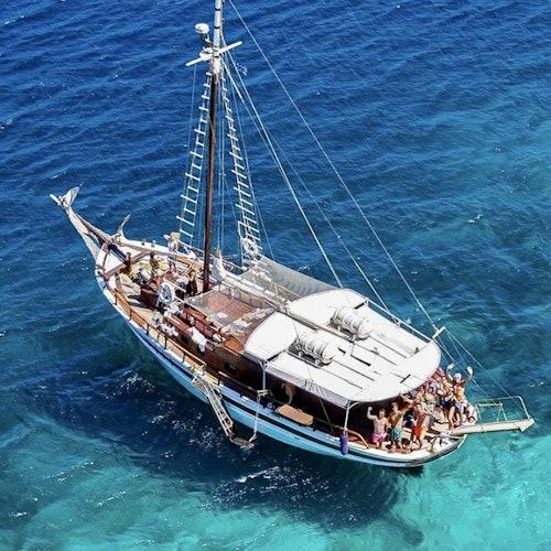 Tour de Mykonos por la costa sur y playa paradisíaca