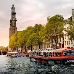 Semi-open Canal Cruise + Audio Guide