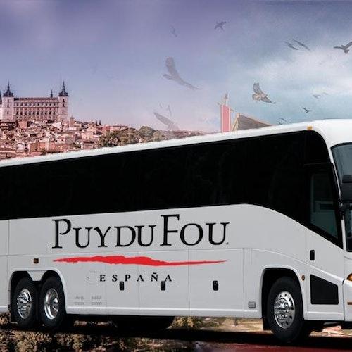 Puy du Fou España: Transfer from Toledo