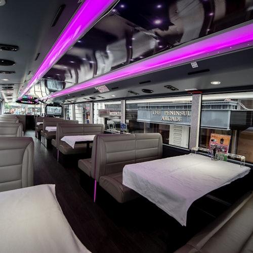 Bus turístico Crystal Bus con cena
