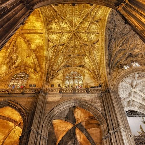 Catedral de Sevilla y Giralda: Sin colas