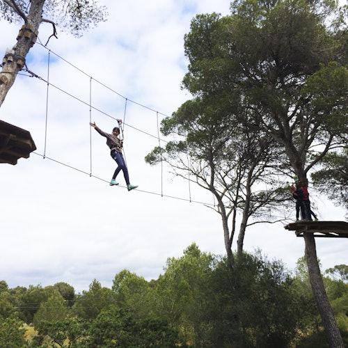 Tirolinas Go! Mallorca: Parque de aventuras