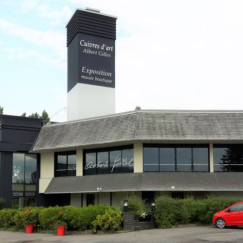 Albert Gilles Copper Art Studio & Museum: Visita guiada + Taller
