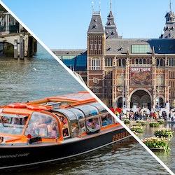Tickets, museos, atracciones,Tickets, museums, attractions,Crucero por los canales,Canal Cruise,Rijksmuseum,Rijksmuseum,Con crucero,Con actividad