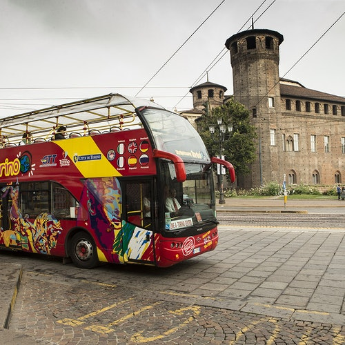 National Automobile Museum + Hop-on Hop-off Bus Turin