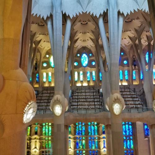 Sagrada Familia: Visita guiada en alemán