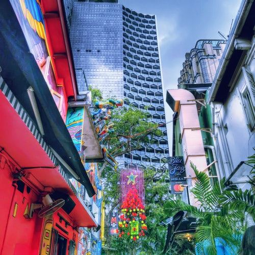 Singapore Instagram Walking Tour