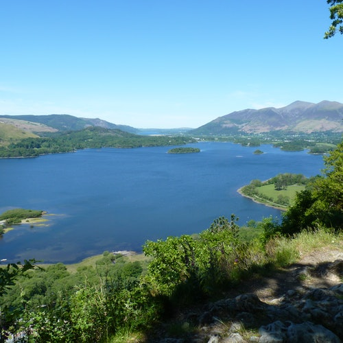 Tour espectacular de los diez lagos desde Windermere
