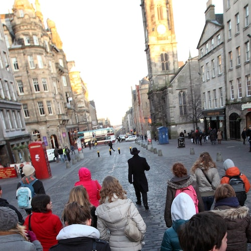 Secretos de la Royal Mile y Castillo de Edimburgo: Recorrido a pie + Sin colas