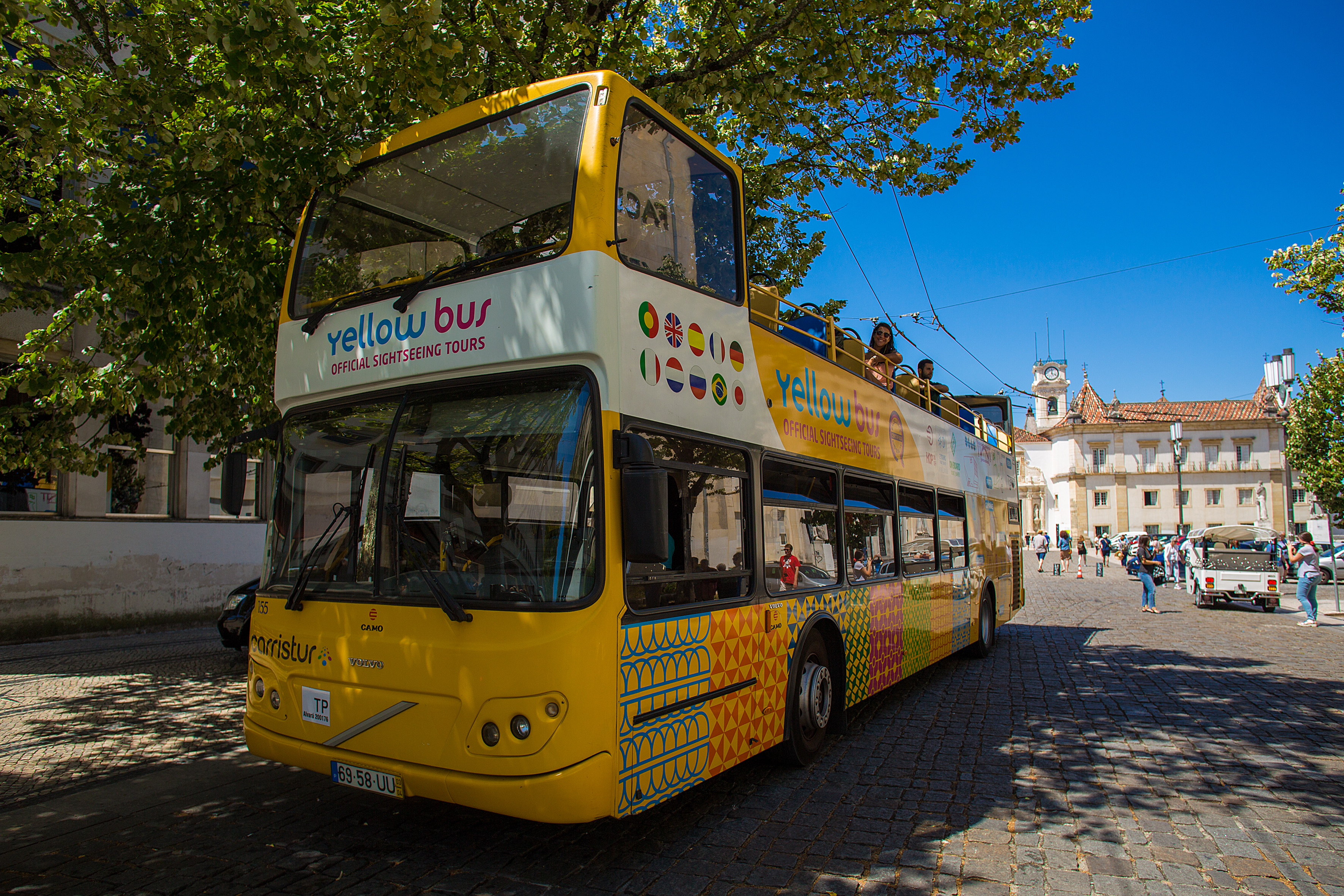 Tickets for Hop-on Hop-off Bus Coimbra