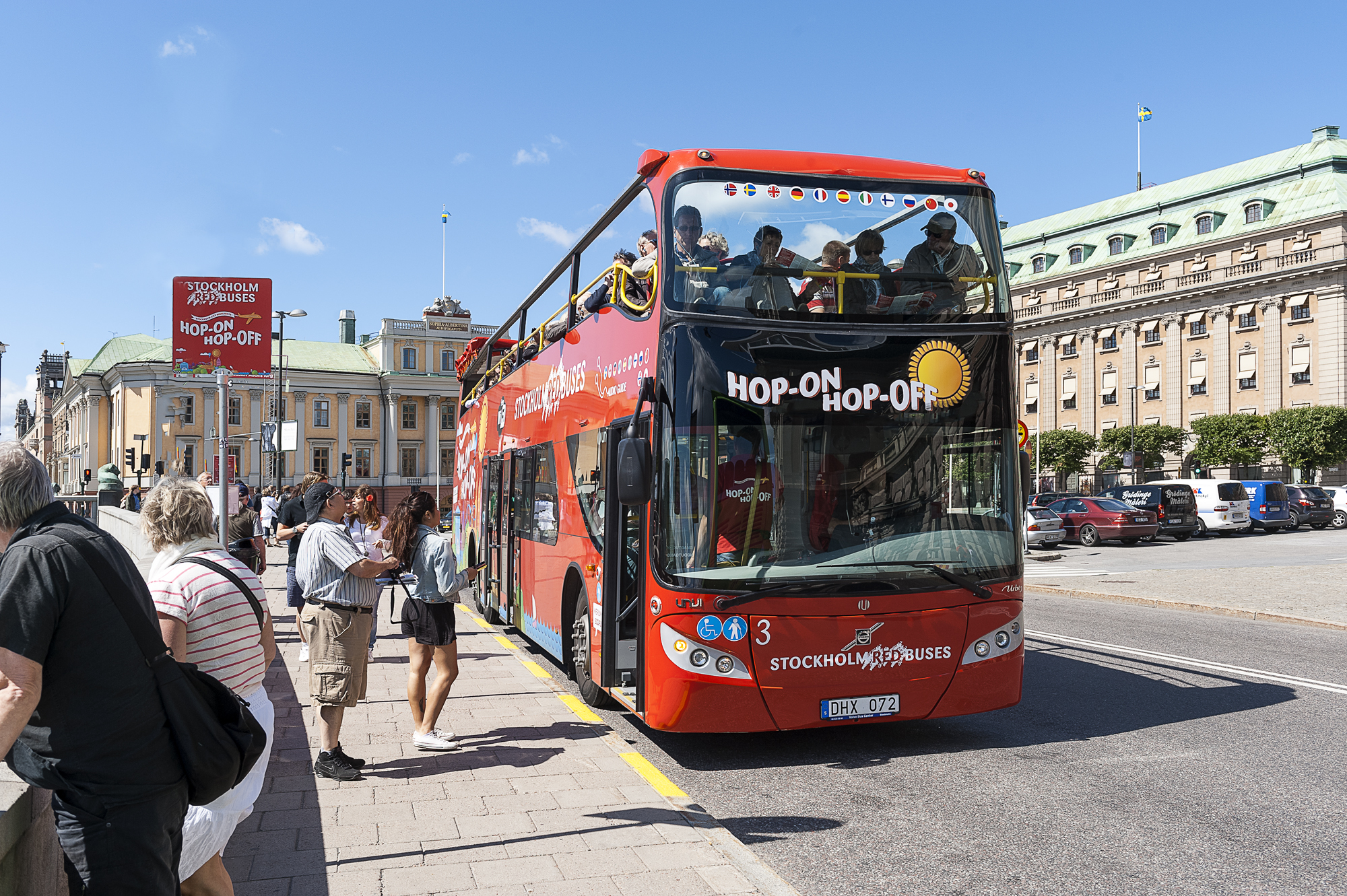 Tickets for Hop-on Hop-off Bus & Boat Stockholm
