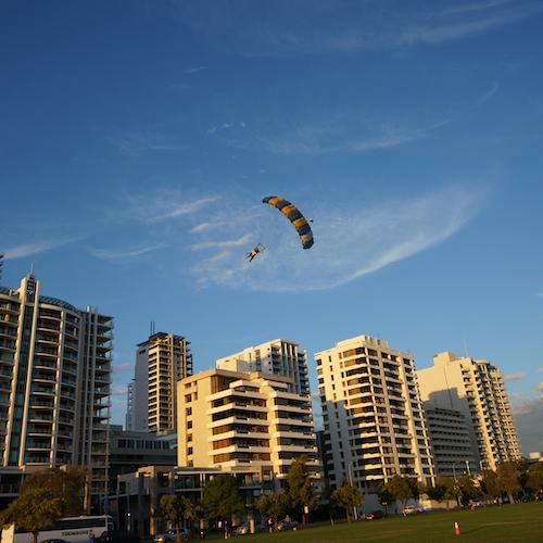 Skydiving Perth City
