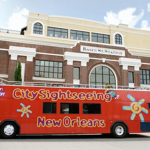 Bus turístico Nueva Orleans